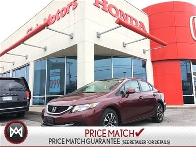 Honda Civic Sdn EX - 4YR/100,000 KMS WARRANTY, BACK UP CAM 2013