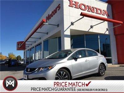 2013 Honda Civic Sdn EX - SUNROOF, HEATED SEATS, BACK UP CAMERA