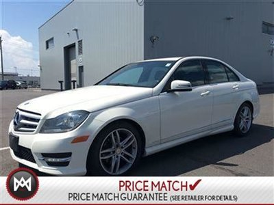 2012 Mercedes-Benz C250 AWD, Leather, Winter tires on rims