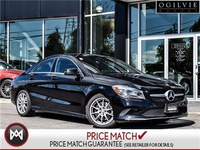 Mercedes-Benz CLA250 Apple car play, panoramic sunroof 2017
