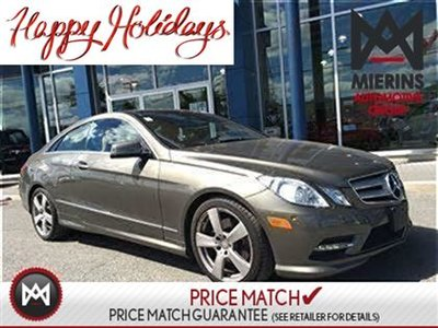 2013 Mercedes-Benz E350 PANO ROOF, BUCKET SEATS, PREMIUM PKG  * 2 years extra warranty on all CPO's * 150 points inspection by a Mercedes-Benz Certified