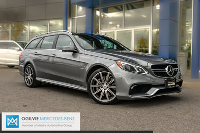 Pre Owned 2014 Mercedes Benz E63 Amg S Model 4matic Wagon