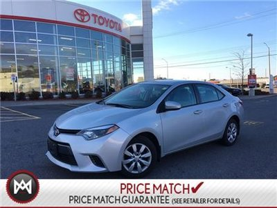 2016 Toyota Corolla LE BACK UP CAMERA HEATED SEATS