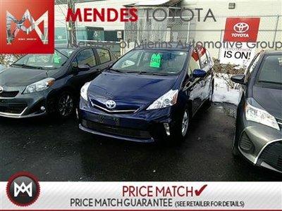 2012 Toyota Prius v LUXURY PACK, LEATHER, HEATED SEATS, XM RADIO Toyota's Famous Hybrid