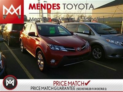 2013 Toyota RAV4 LIMITED, BACKUP CAMERA, HEATED SEATS WITH MEMORY Toyota's Best Selling Compact SUV