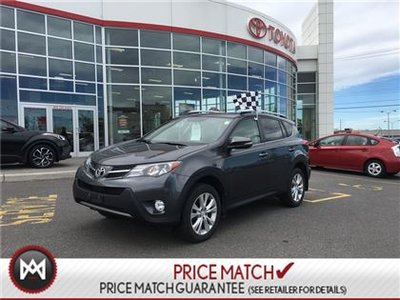 2015 Toyota RAV4 LIMITED: LEATHER, SUNROOF, HEATED SEATS Everyone's favorite SUV is here!