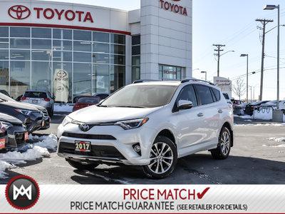 Toyota RAV4 PLATINUM: FORWARD COLLISION, BLIND SPOT WARNING 2017
