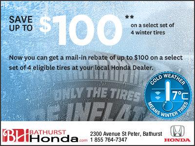 Change Your Tires at Bathurst Honda