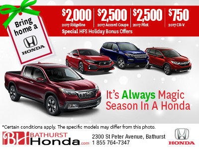 Save on a New Honda!