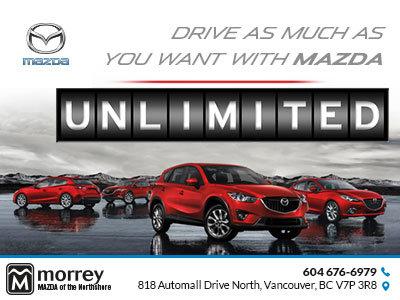 Mazda's Unlimited Mileage Guarantee