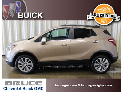 2018 Buick Encore CX 1.4L 4 CYL TURBOCHARGED AUTOMATIC AWD   Bruce Chevrolet Buick GMC Middleton
