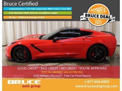 2015 Chevrolet Corvette Z51 2LT 6.2L 8 CYL AUTOMATIC RWD 2D COUPE | Bruce Hyundai