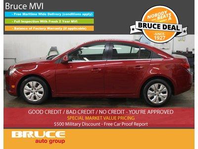 2012 Chevrolet Cruze LT 1.4L 4 CYL TURBOCHARGED AUTOMATIC FWD 4D SEDAN | Bruce Hyundai