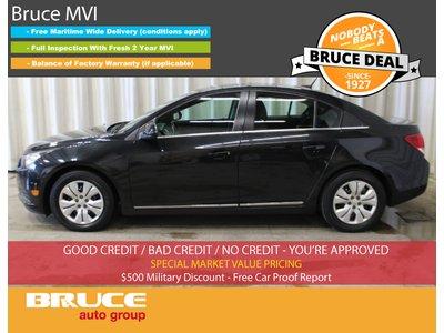 2014 Chevrolet Cruze LT - REMOTE START / SATELLITE / SUN ROOF | Bruce Ford