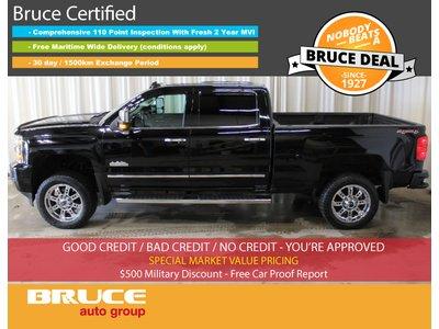 2016 Chevrolet Silverado 2500 HD High Country 6.6L DUARMAX DIESEL 4X4 CREW CAB | Bruce Hyundai