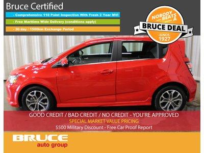 2017 Chevrolet Sonic LT - REMOTE START / HEATED SEATS / SUN ROOF   Bruce Hyundai