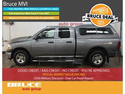 2011 Dodge RAM 1500 ST 5.7L 8 CYL HEMI AUTOMATIC 4X4 QUAD CAB | Bruce Hyundai