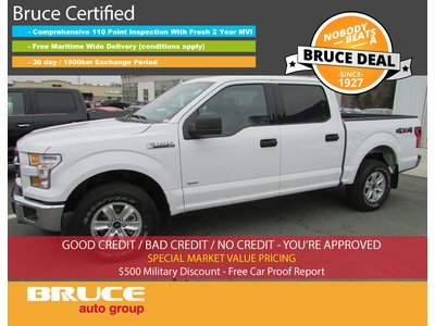 2017 Ford F-150 XLT 3.5L 6 CYL ECOBOOST AUTOMATIC 4X4 SUPERCREW | Bruce Automotive Group