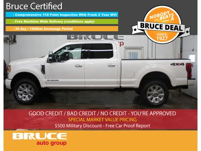 2017 Ford F-250 S/DUTY PLATINUM SRW - LEATER SEATS / FULLY LOADED | Bruce Ford