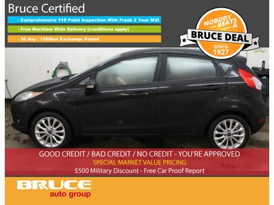 2014 Ford Fiesta SE 1.6L 4 CYL 5 SPD MANUAL FWD 5D HATCHBACK | Bruce Hyundai