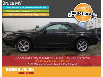 2000 Ford Mustang GT 4.6L 8 CYL 5 SPD MANUAL RWD 2D CONVERTIBLE   Bruce Hyundai