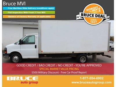2014 GMC Savana 3500 6.0L 8 CYL AUTOMATIC RWD CUBE VAN | Bruce Hyundai