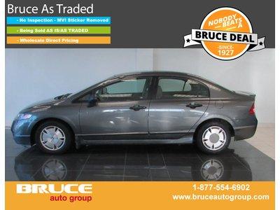 2010 Honda Civic DX-G 1.8L 4 CYL 5 SPD MANUAL FWD 4D SEDAN | Bruce Hyundai