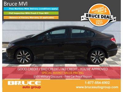 2013 Honda Civic Touring 1.8L 4 CYL I-VTEC AUTOMATIC FWD 4D SEDAN | Bruce Automotive Group