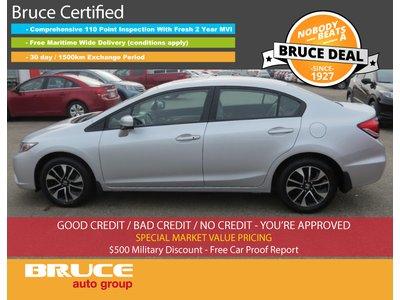 2015 Honda Civic EX - SUN ROOF / HEATED SEATS / BACK-UP CAMERA   Bruce Hyundai