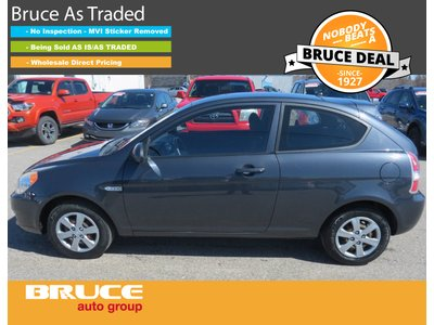 2009 Hyundai Accent GL 1.6L 4 CYL AUTOMATIC FWD 2D HATCHBACK   Bruce Chevrolet Buick GMC Middleton