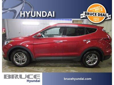 2018 Hyundai Santa Fe SPORT PREMIUM 2.4L 4 CYL AUTOMATIC AWD   Bruce Hyundai