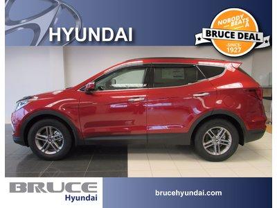 2018 Hyundai Santa Fe SPORT SE 2.4L 4 CYL AUTOMATIC AWD   Bruce Hyundai