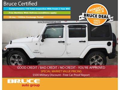 2016 Jeep Wrangler UNLIMITED SAHARA 3.6L 6 CYL MANUAL 4X4 - 4 DOOR | Bruce Hyundai