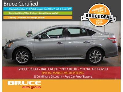 2014 Nissan Sentra SR - HEATED SEATS / SUN ROOF / BACK-UP CAMERA   Bruce Chevrolet Buick GMC Middleton