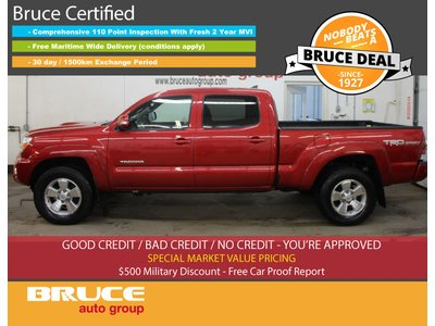 2015 Toyota Tacoma TRD SPORT 4.0L 6 CYL AUTOMATIC 4X4 CREW CAB | Bruce Chevrolet Buick GMC Middleton