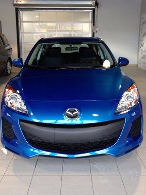 Ma nouvelle voiture!