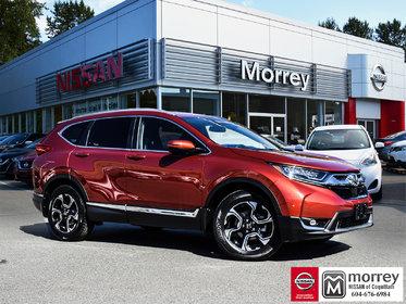 2019 Honda CR-V Touring AWD * Leather, Backup Camera, Navi, USB!