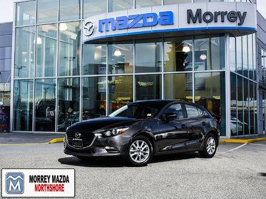 2017 Mazda Mazda3 Sport Hatchback with Heated seats! Back up camera! Click