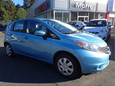 2015 Nissan Versa Note S * Bluetooth, A/C, Fuel Efficient, Versatile!