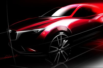 Mazda continu sa percée avec le CX-3 à Los Angeles