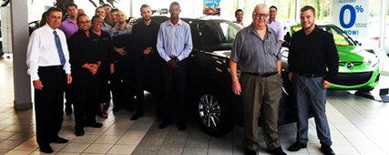 Mazda 2-20, un concessionnaire différent, une véritable famille…