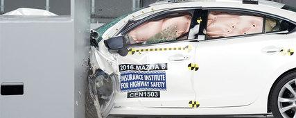 Mazda parmi les modèles les plus sécuritaires de l'industrie selon l'IIHS!