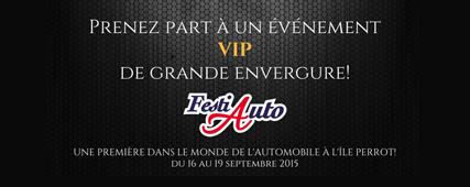 Le FestiAuto de l'Île Perrot du 16 au 19 septembre 2015