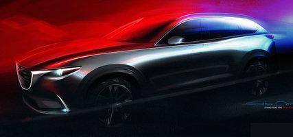 Le Mazda CX-9 complètement redessiné bientôt révélé au Salon de l'auto de Los Angeles!