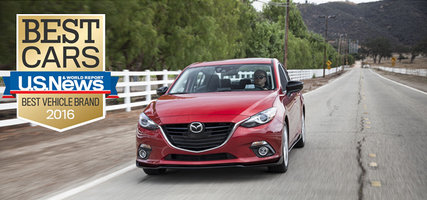 U.S. News & World Report nomme Mazda meilleure marque de véhicules en 2016!