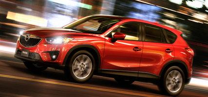 Le Mazda CX-5, véhicule utilitaire sport de l'année