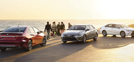2017 Camry and 2017 Camry Hybrid, 9 Available Models