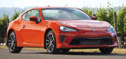 The Scion FR-S changes its name this year. This is the new 86 from Toyota!