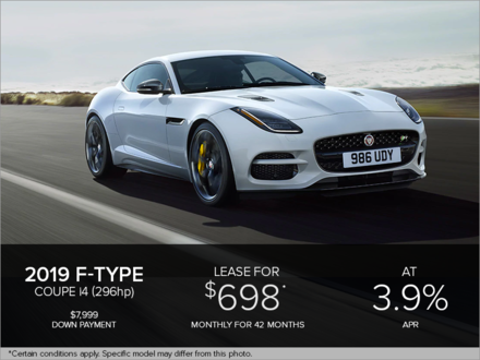 The 2019 F-Type Coupe i4T