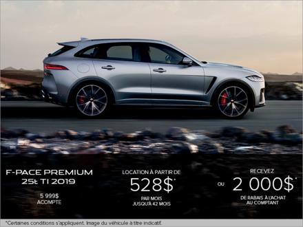 La Jaguar F-PACE Premium 25t TI 2019